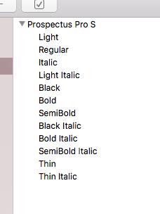 Font Family Style Order: Adobe vs  Font Book - Glyphs Forum