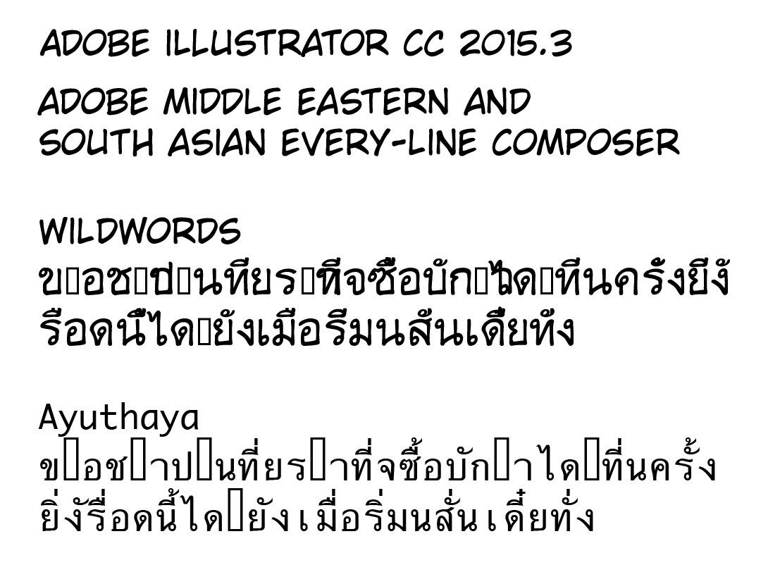 Thai marks in illustrator - Design - Glyphs Forum