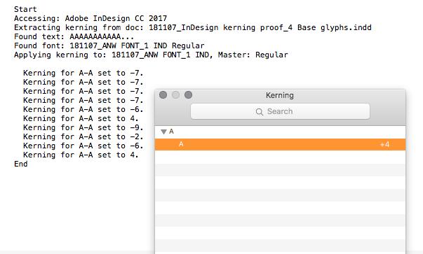 Mekkablue's Steal kerning from InDesign - Scripting - Glyphs